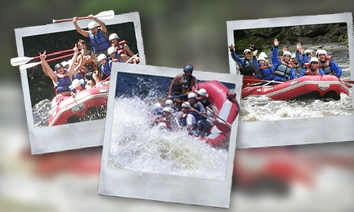 Northwood's Adventures  - Vulcan: $25 for Menominee River Half-Day Rafting Adventure from Northwood's Adventures in Niagara (Up to $52.95 Value)