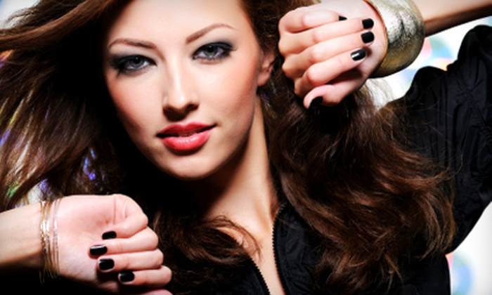 Haute Beauty Couture - Central San Jose,Sunol-Midtown,The Alameda: $20 for a Shellac Manicure and a Mini Massage at Haute Beauty Couture ($45 Value)