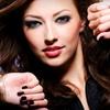 56% Off Shellac Manicure and Mini Massage
