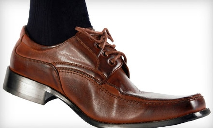 Prestige Cleaners - Multiple Locations: $12 for Four Shoe Shines at Prestige Cleaners (a $24 Value)