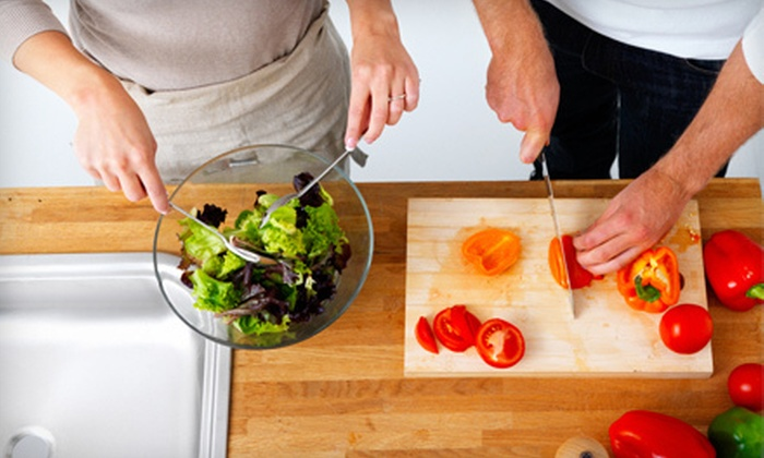 Your At Home Chef - Folsom: $149 for Romantic Dinner for Two or Cooking Lesson for Four from Your At Home Chef ($300 Value)
