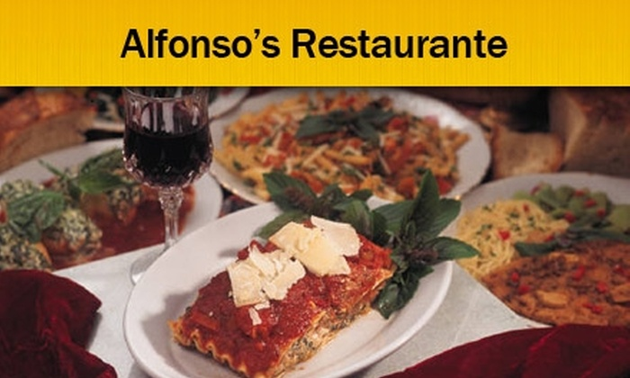 Alfonso's Restaurante - Middleburg Heights: $9 for $20 Worth of Italian Cuisine and Drinks at Alfonso's Restaurante