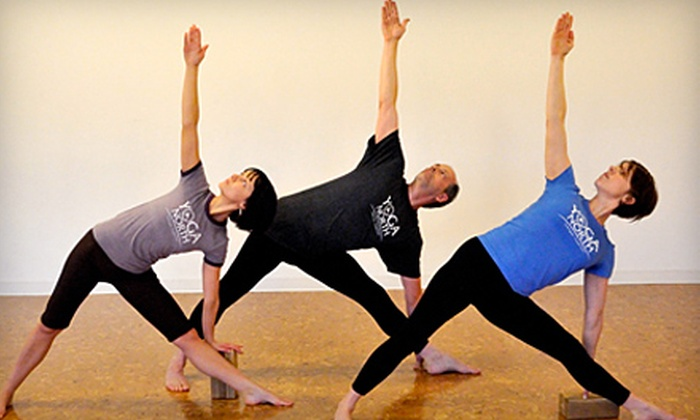 Yoga North - West Broadway: 10 Yoga Classes or One Month of Unlimited Yoga at Yoga North