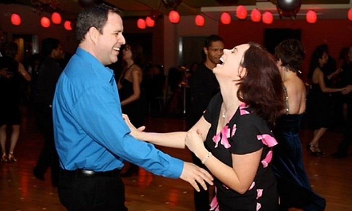 Daza Dance Ballroom Academy - Multiple Locations: $20 for a Popular Social 8 Dance-Class Series at Daza Dance Ballroom Academy ($50 Value)