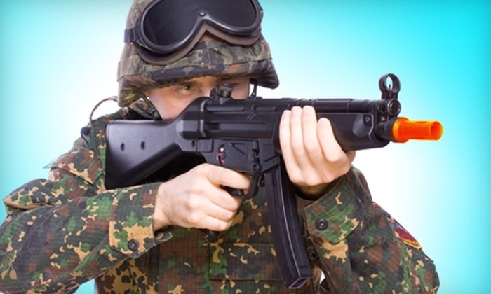 So Go Airsoft - Ozark: $8 for Two Indoor Airsoft Games and Gun Rental ($16 Value) or $50 for a Two-Hour Party ($100 Value) at So Go Airsoft in Ozark