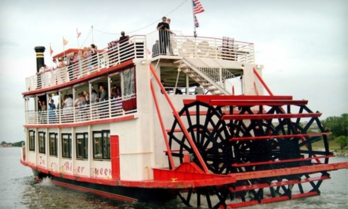"""Indian River Queen - Cocoa River: $30 for a Friday Night Dinner Cruise or a Sunday Afternoon Riverboat Adventure Aboard the """"Indian River Queen"""" ($54 Value)"""
