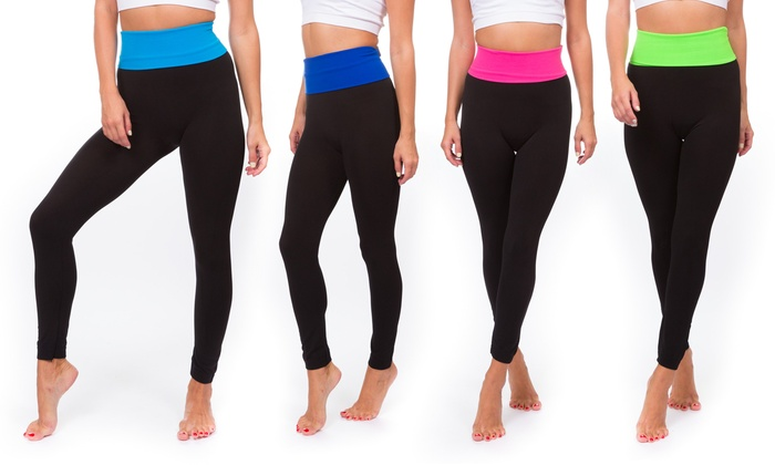 3-Pack of Women's Yoga Pants | Groupon Goods