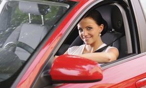 Carné de coche con 5 prácticas por 9,95 € o curso para obtener la licencia BTP por 19,95 €