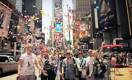 Guided Walking Tours of the Broadway Theater District for Two, Four, or Six from Walkin' Broadway (Up to 52% Off)