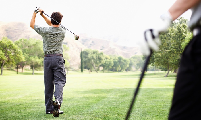Indian Run Golf Club - Scotts: $30 for an 18-Hole Round of Golf with Cart Rental for Two at Indian Run Golf Club (Up to $64 Value)