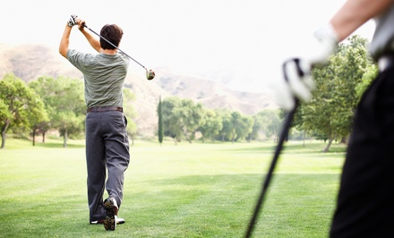 $30 for an 18-Hole Round of Golf with Cart Rental for Two at Indian Run Golf Club (Up to $64 Value)