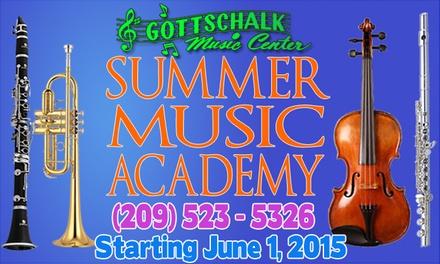 Up to 94% Off Summer camps. at Gottschalk Music Center