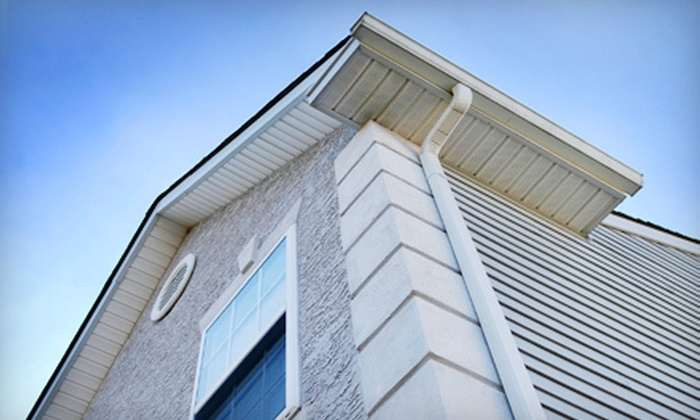 Window Washing & Mor - Sioux Falls: Window Washing and Gutter Cleaning from Window Washing & Mor (Up to 53% Off). Four Options Available.