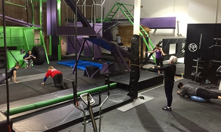 One Month Gym Membership at Ninja Park (65% Off)