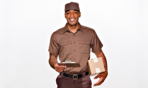 The UPS Store: UPS Shipping Services or Small, Medium, or Large Mailbox Rental from The UPS Store (Up to 51% Off)
