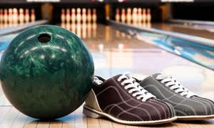 Alley Gatorz: Two-Hours of Bowling with Shoe Rental for Two or Four at Alley Gatorz (Up to 74% Off)