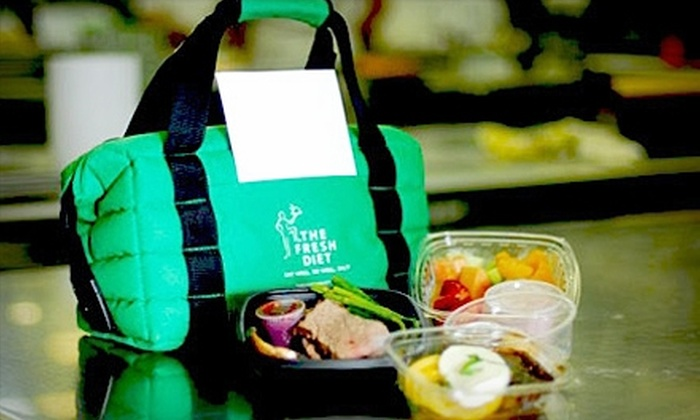 The Fresh Diet: $29 for Three Healthy Meals and Two Snacks from The Fresh Diet ($59.99 Value)