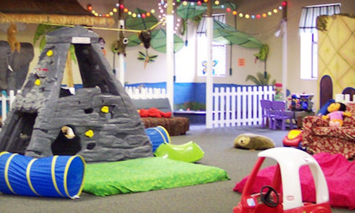 The Sandbox Indoor Playground - Fairport: $13 for Four Admissions to The Sandbox Indoor Playground in Fairport (Up to $27 Value)