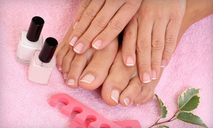 Quince Spa - Potrero: Peppermint-Sugar Mani-Pedi for One or Two at Quince Spa (Up to 51% Off)