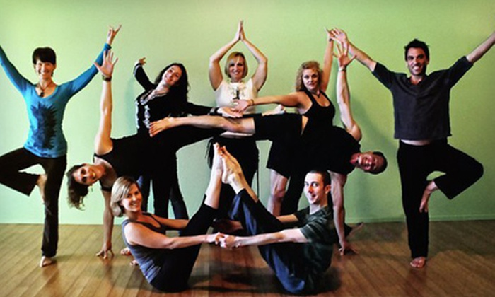The Jade Apple - Valley Village: $49 for 20 Yoga Classes at The Jade Apple in North Hollywood ($220 Value)