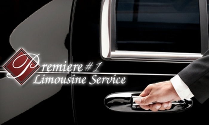 Premiere #1 Limousine Service - Londonderry: $50 for $100 Worth of Transportation Services at Premiere #1 Limousine Service