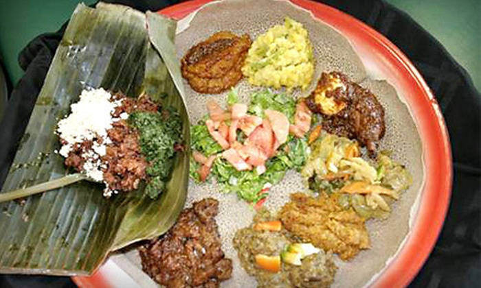 Taste of Ethiopia - Southfield: Prix Fixe Meal with Wine for Two or $12 for $25 Worth of Ethiopian Fare and Drinks at Taste of Ethiopia in Southfield