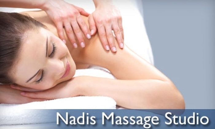Nadis Massage Studio - Riverdale: $32 for a One-Hour Relax and Rejuvenate Massage at Nadis Massage Studio ($65 Value)
