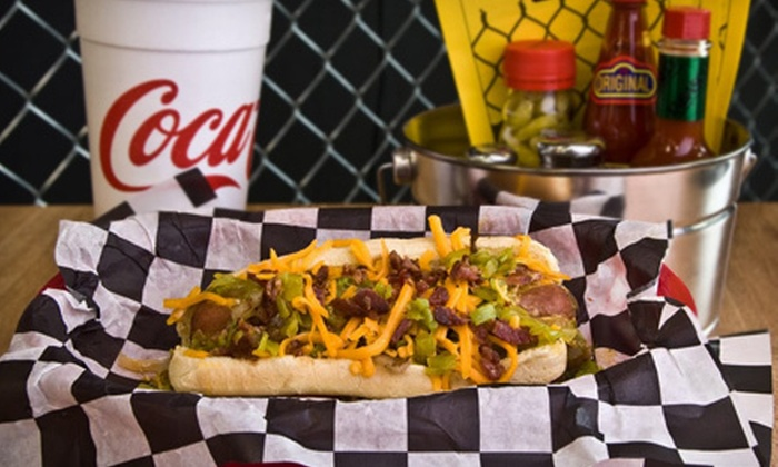 The Gnarley Dawg - Tulsa: $5 for $10 Worth of Hot Dogs, Sausages, Sides, and Drinks at The Gnarley Dawg