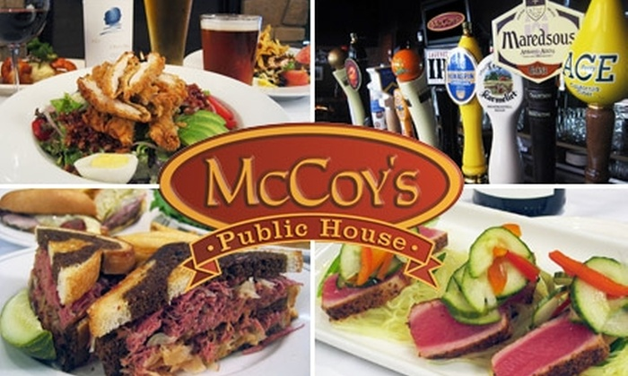 McCoy's Public House - St. Louis Park: $20 for $40 Worth of Upscale Comfort Fare and Drinks at McCoy's Public House in St. Louis Park