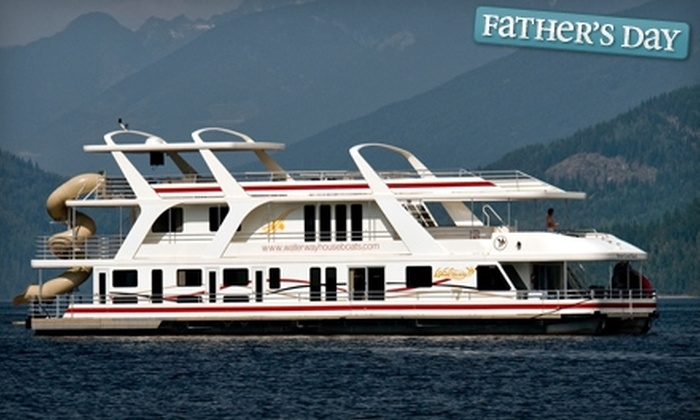 Waterway Houseboats - Sicamous: $700 for $1,400 Toward Houseboat Rental at Waterway Houseboats in Sicamous