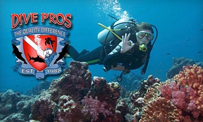 Dive Pros - West Pensacola: $25 for Discover Scuba Lesson at Dive Pros ($69 Value)