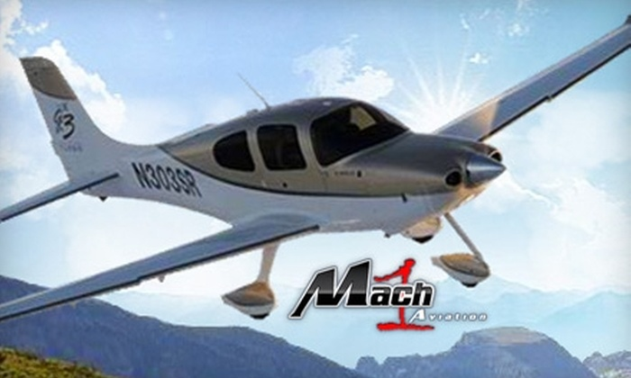 Mach 1 Aviation - Northridge: $203 for One Hour Flight Lesson with Mach 1 Aviation ($290 Value)