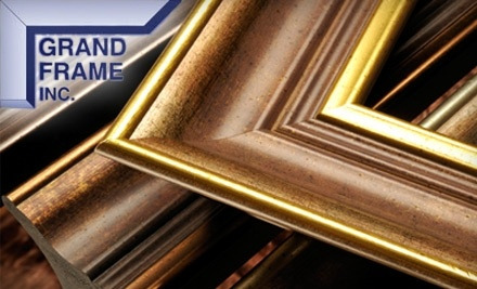 $125 Groupon to Grand Frame and Gallery - Grand Frame and Gallery in Arlington Heights