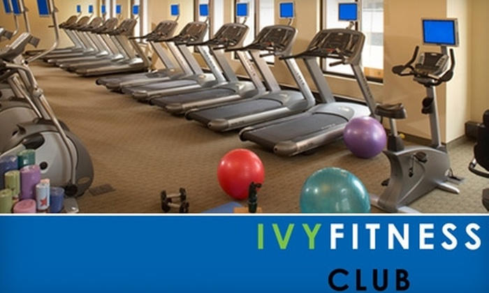 Ivy Fitness Club - Downtown West: $30 for Four Drop-in Classes and Six Day Passes at Ivy Fitness Club ($252 Value)