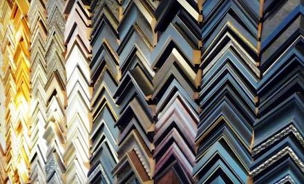 $110 Groupon to Middleton Art & Framing - Middleton Art & Framing in Middleton