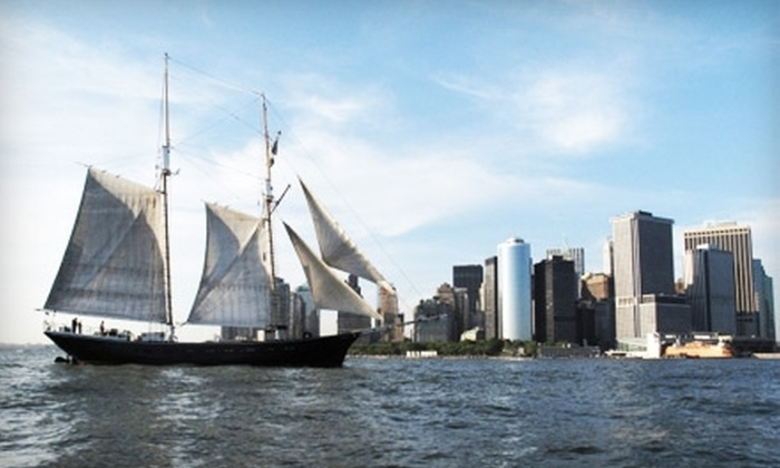 Manhattan By Sail - Battery Park: $55 for One Ticket to Jazz Sail from Manhattan by Sail ($95 Value)