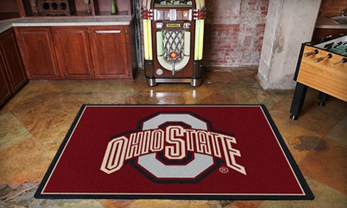 """My Sports Rug: $99 for Any 5'4""""x7'8"""" Sports-Team Floor Rug from My Sports Rug ($250 Value)"""