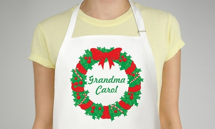 $11.99 for One Personalized Apron from GiftsForYouNow.com ($22.98 Value)