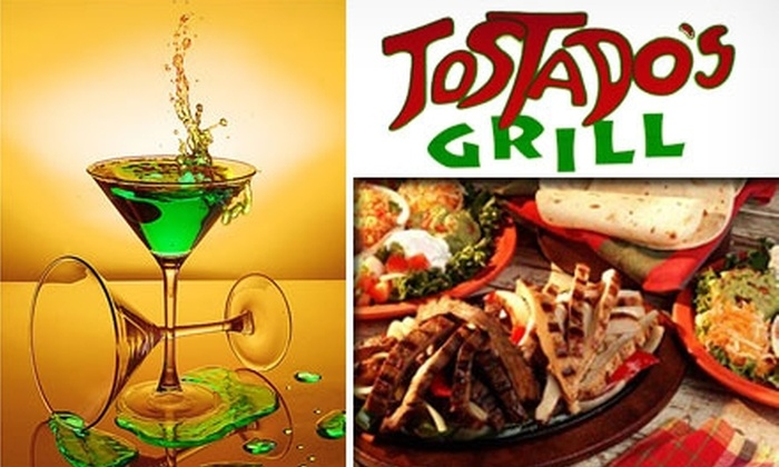 Tostado's Grill - Columbia-Tusculum: $15 for $30 Worth of Global Fare, Drinks, and Karaoke at Tostado's Grill