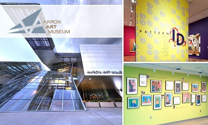 Akron Art Museum - Akron / Canton: One-Year Membership to the Akron Art Museum. Choose from Two Options.