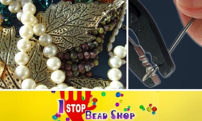1 Stop Bead Shop - Dublin: $35 for a DIY Jewelry Jumpstart Class at 1 Stop Bead Shop
