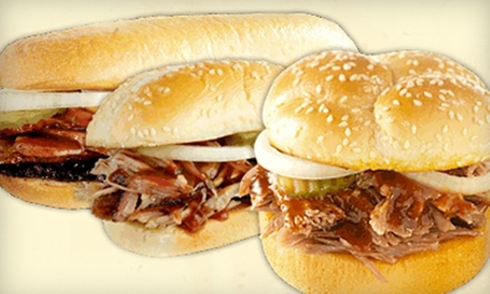 Dickey's Barbecue Pit - Washington Ave./ Memorial Park: $7 for $15 Worth of Smokehouse Fare and Drinks at Dickey's Barbecue Pit