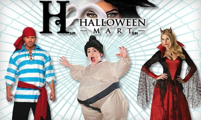 Halloween Mart - Paradise: $15 for $30 Worth of Costumes, Accessories, and Decorations at Halloween Mart