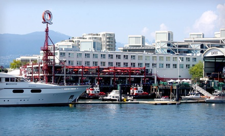 Option 1: One-Night Stay in a Standard Room - Lonsdale Quay Hotel in North Vancouver