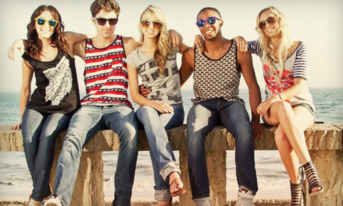 Splash Panic - Grant Ferry: $15 for $30 Worth of Eclectic Apparel at Splash Panic