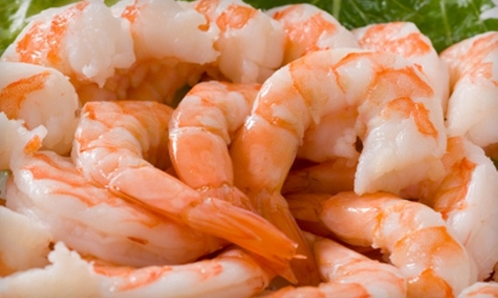 Blue Water Seafood Company - East Brunswick: $15 for $30 Worth of Oceanic Fare and More for Lunch (or $30 for $60 for Dinner) at Blue Water Seafood Company in East Brunswick