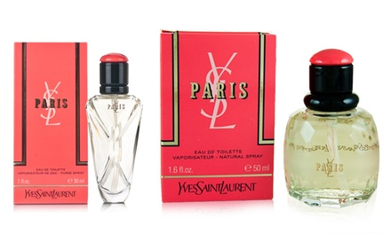 Yves Saint Laurent Paris Eau de Toilette for Women (1 or 1.6 Fl. Oz.)
