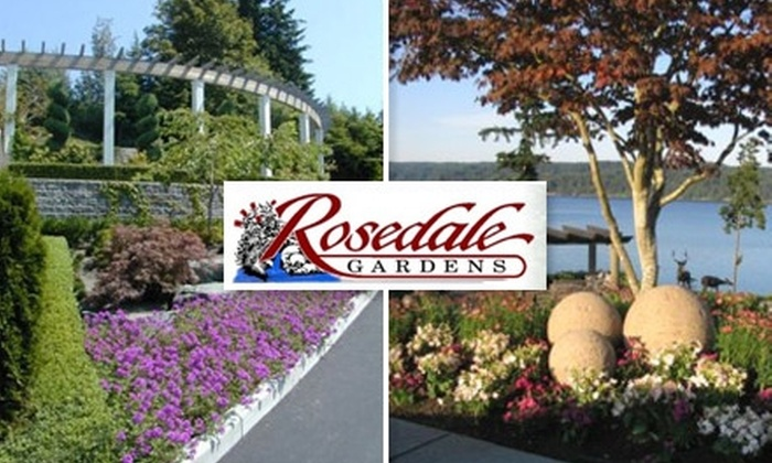 Rosedale Gardens - Gig Harbor Peninsula: $25 for $50 Toward Regular-Priced Shrubs, Trees, Statues, and Garden Art at Rosedale Gardens