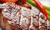 Castle Ranch Steakhouse - Boise: $15 for $30 Worth of Grilled Fare and Drinks at Castle Ranch Steak House