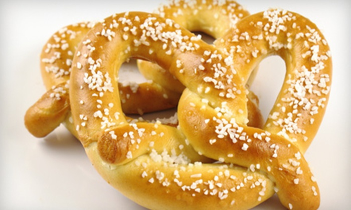 The Pretzel Twister - Charleston: $7 for Pretzels and Drinks for Two at The Pretzel Twister (Up to $14.20 Value)